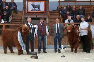 22. Martinsmarkt 2014. Reservesiegerin Arabella von der Falkenau